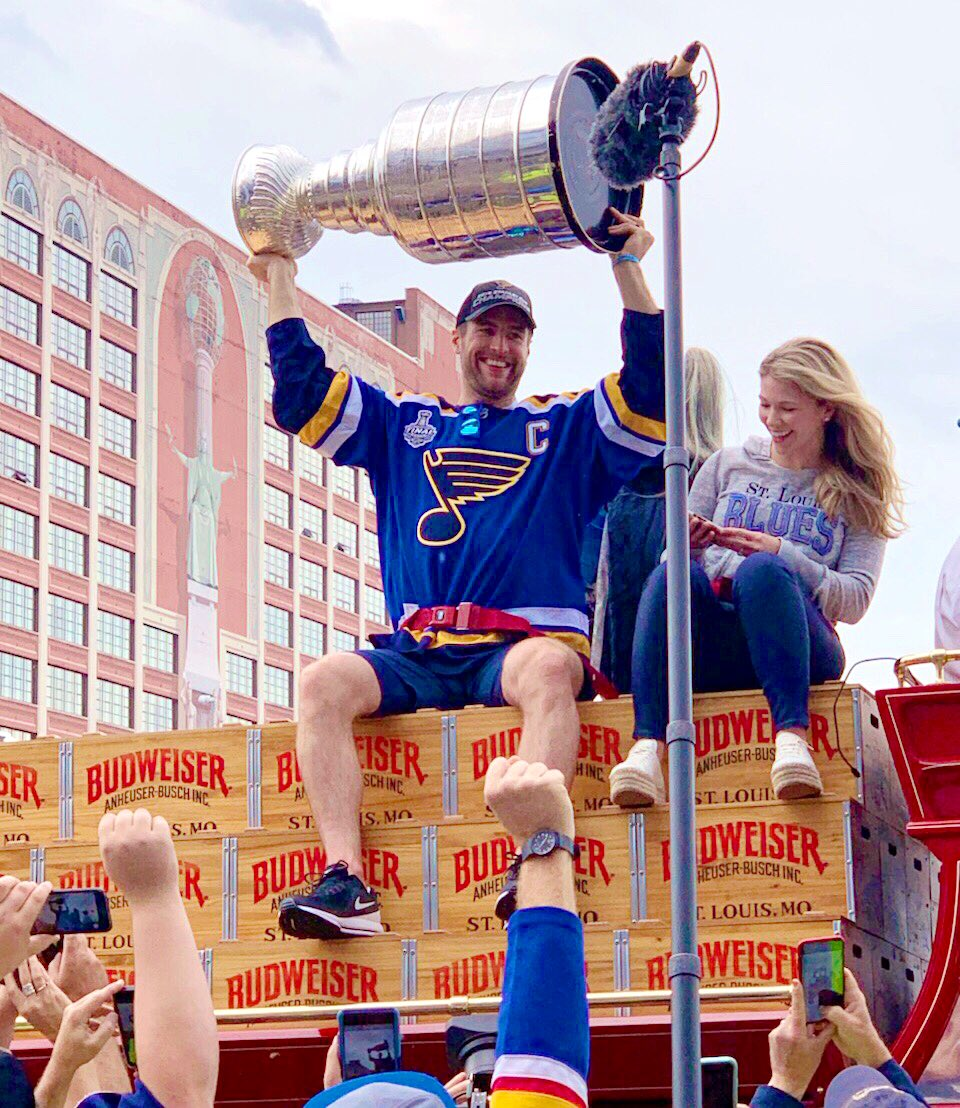 Today was the best day. #stlblues