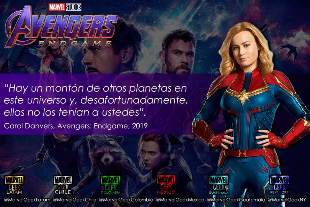 Marvel Geek Latam On Twitter Frases Célebres Y No Tanto De