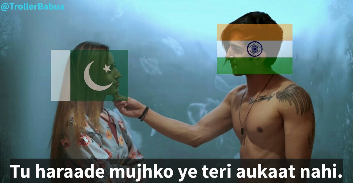 India to Pakistan in every world cup match #INDvPAK