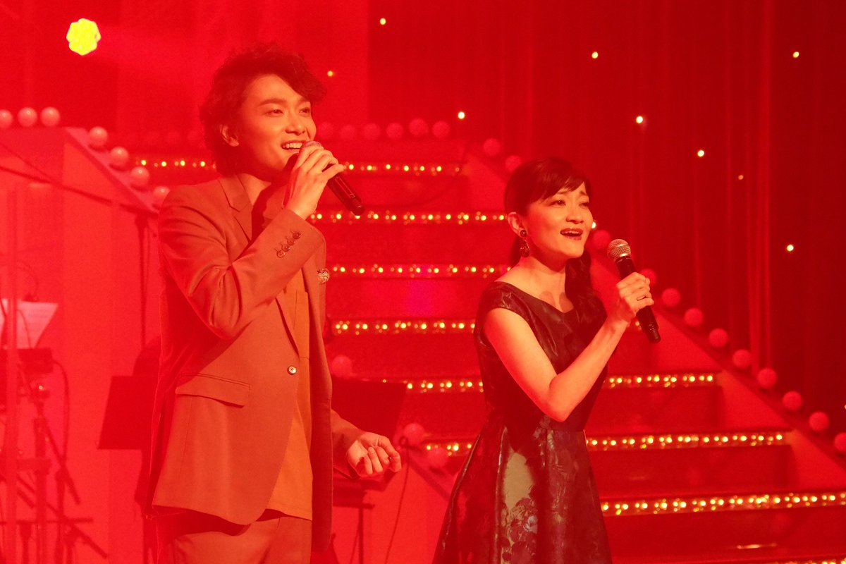 トニー賞 で盛り上がった今月グリブラ はミュージックショー拡大版 まずは 井上芳雄 さんと初登場の