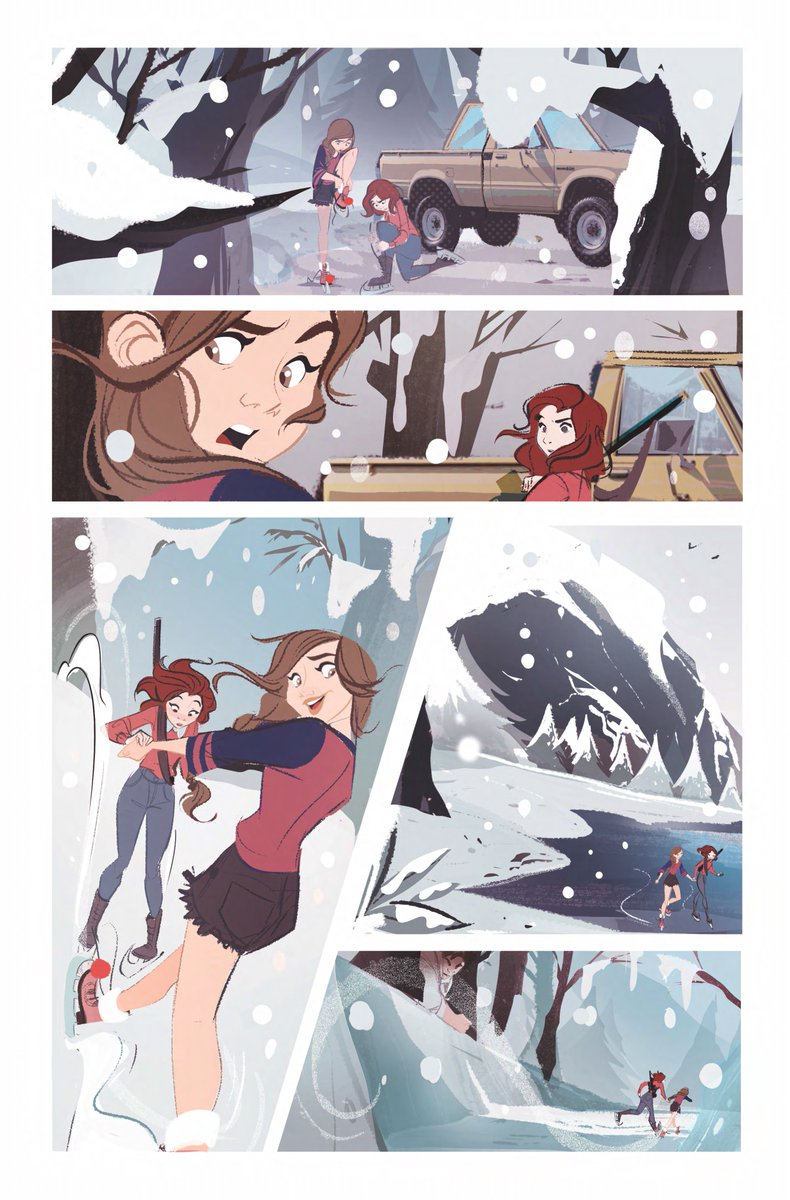 Special Advance Art Preview Of #WayCold story for #WynonnaEarp #BadDayAtBlackRock #Kicksarter HC Written by @DominiqueP_C  @KatBarrell & @BeauSmithRanch Art by the INCREDIBLE  @nicolettabaldar For all the #Earpers with all our love. @IDWPublishing #GraphicNovel