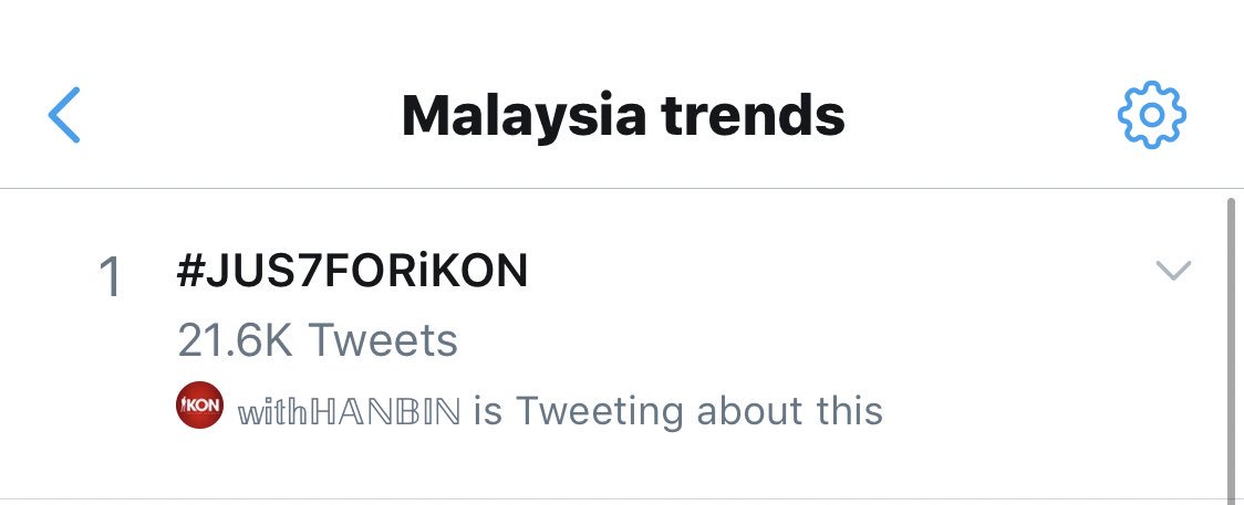 keep trending guys. also dont forget to leave some comments on members latest post (especially hanbin). let them know we are here supporting them! #JUS7FORiKON<br>http://pic.twitter.com/voIAXfRDEo