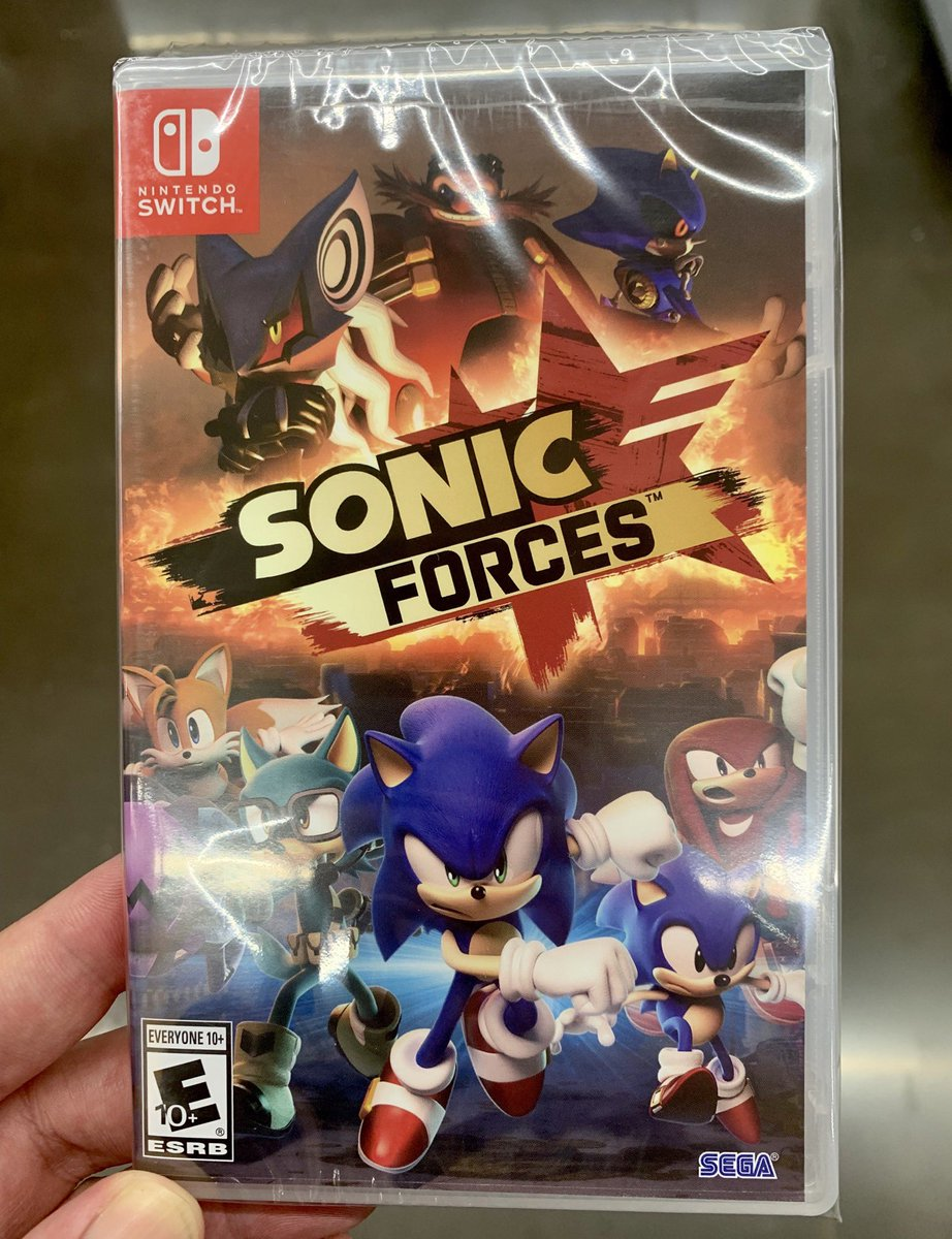 🔵💨BLUE BLUR GIVEAWAY💎🌭  It's okay if you don't understand my obsession with #SonicForces on #NintendoSwitch. Let me show you instead. I'll be giving away 1 physical copy...  Just Follow + RT for a chance to win!  Drawing at 11pm EST 6/23 (NA/EU regions eligible)  #SwitchCorps