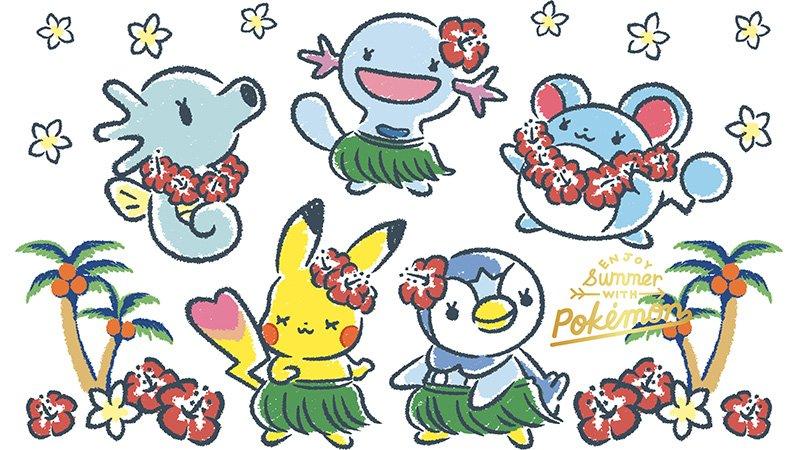 ━━━━━━━━━ #ポケモン     ✖     ITSDEMO ━━━━━━━━━ おめめパッチリなポケモンたち😍 夏仕様のかわいいグッズが登場です✨ pokemon.co.jp/info/2019/06/1…