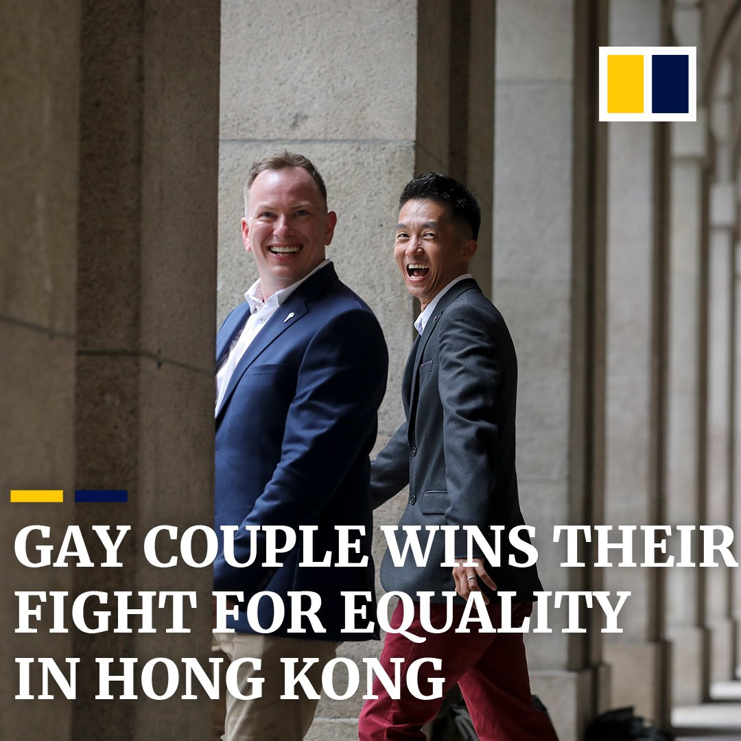 Angus Leung and Scott Adams, a gay couple from Hong Kong, fought a four year legal battle for equality. In the end, love won https://sc.mp/564k