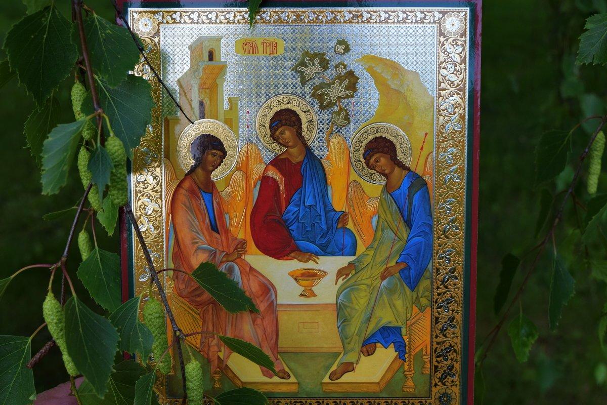 Троица картинки красивые с церковью, день рождения