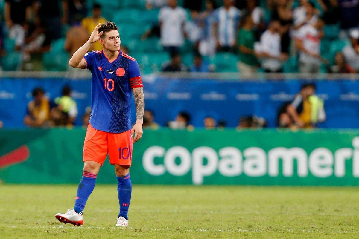Kolumbiya Argentinani yengdi