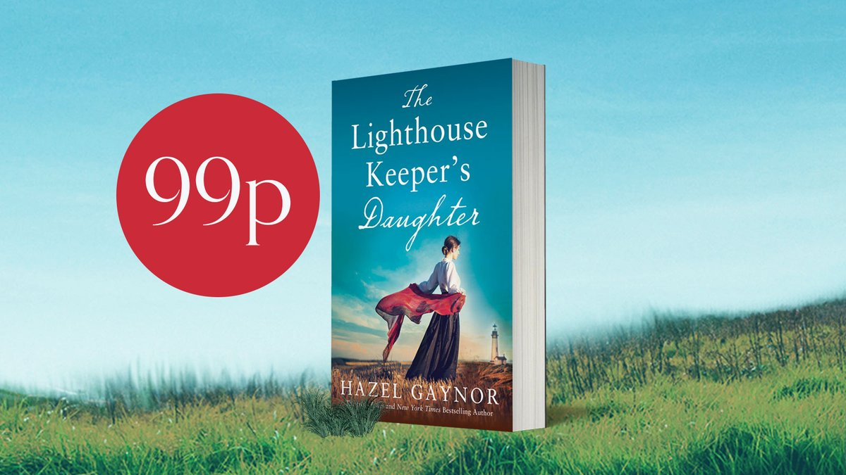 So excited to wake up to a no 1 bestseller flag for #LighthouseKeepersDaughter and climbing the #Kindle charts! Inspired by Grace Darlings incredible true story, and only 99p today. Pass it on! smarturl.it/LighthouseKeep… #amreading #histfic #kindle 🐚🌊💙