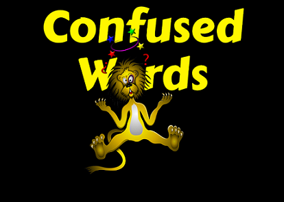 Additional Confused Words - here are some of the most commonly confused words. #writingcommunity #amwriting #writerslife https://georgelthomas.com/2017/09/17/additional-confused-words/…