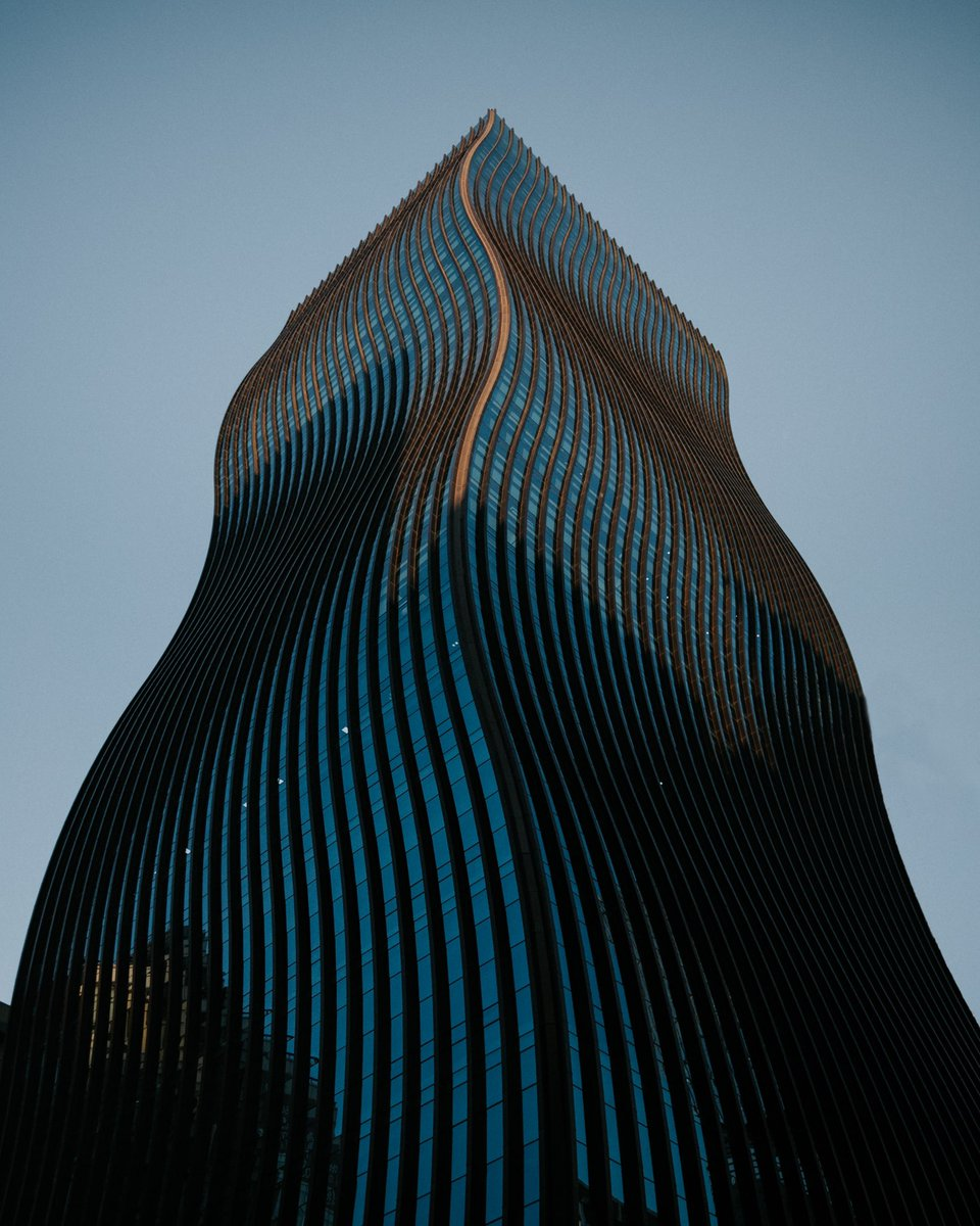 The building with curves. Seoul, Korea🇰🇷