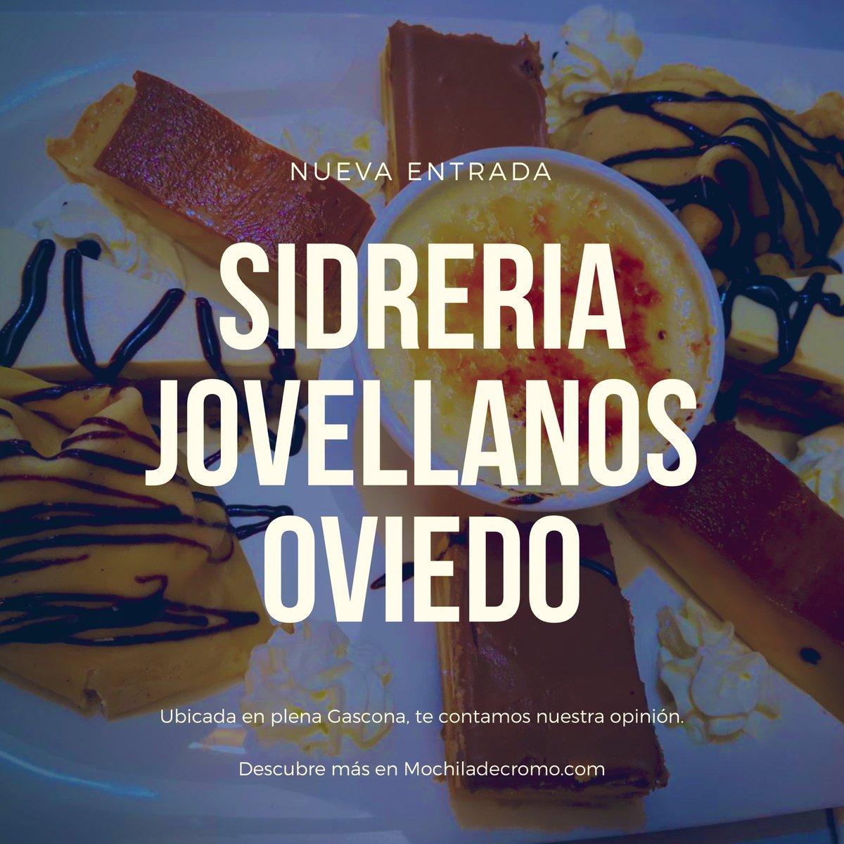 Ya tenéis nueva entrada en el blog. En este caso, os doy mi #opinión sobre la Sidrería Jovellanos en #Oviedo #Gascona #Asturias  http://mochiladecromo.com/2019/06/16/sidreria-jovellanos-oviedo-opinion/…