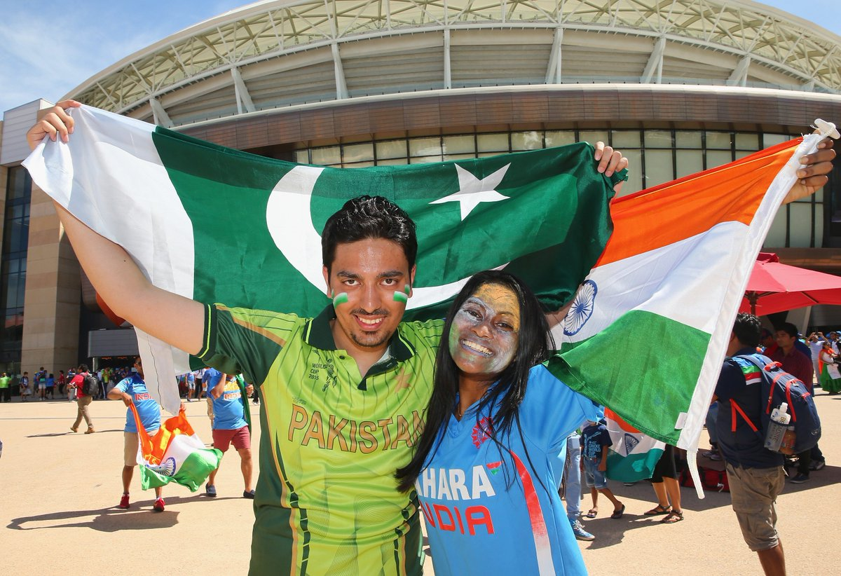 Always spreading the love!💞 #INDvPAK | #CWC19 es.pn/INDvPAK