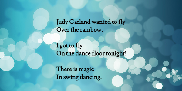 What a joy to fly on the #dance floor!  #swingdance #swingdancing #lindyhop #lindy #dancing #music #JudyGarland #Judy #Romance #magic #vintage #mydayinLA #muse #LosAngeles #dream #writing #poetry #style #Dancer