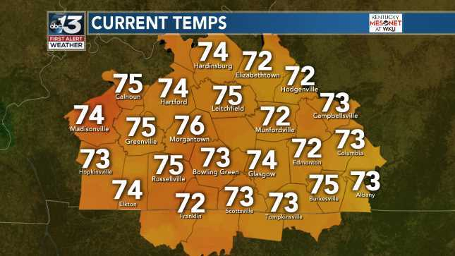 Automatic Ky Mesonet Temps June 16, 2019 at 04:00AM Always on the WBKO Weather App and http://WBKO.com  #wbkowx #wbko #kywx