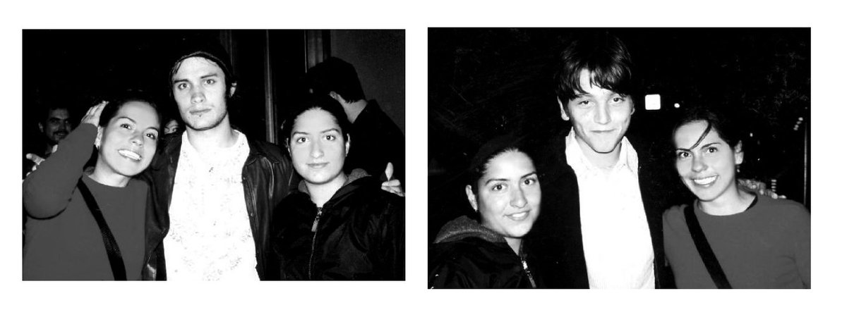 """De los mejores momentos de mi vida,   """"La vida tiene sus maneras de enseñarnos. La vida tiene sus maneras de confundirnos. La vida tiene sus maneras de cambiarnos""""... #Ytumamátambién #Toronto #TIFF #2001 #historias @GaelGarciaB @diegoluna Fotos por Salma Hayek."""
