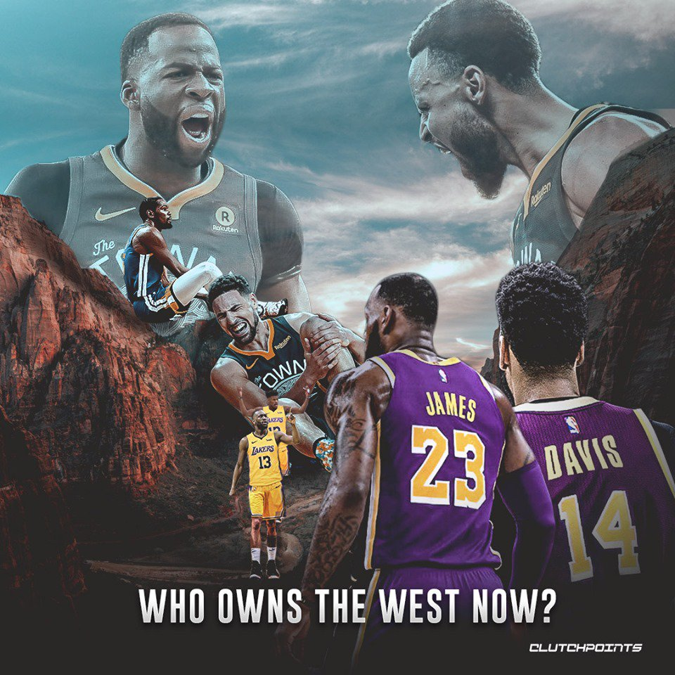Clutchpoints On Twitter Lebron James Anthony Davis And