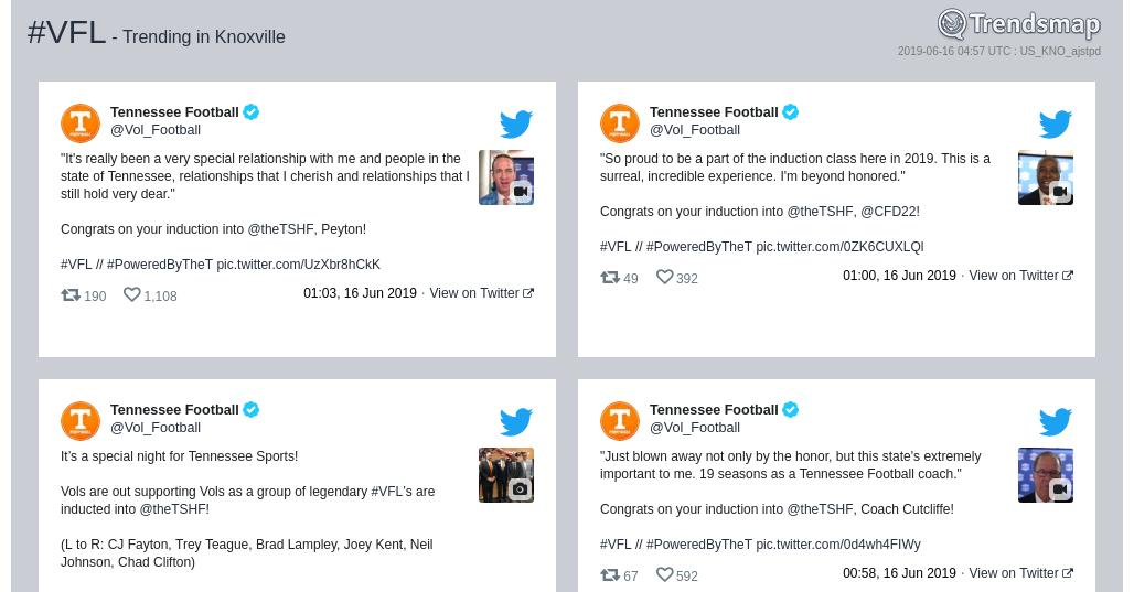 #vfl is now trending in #Knoxville  https://www.trendsmap.com/r/US_KNO_ajstpd