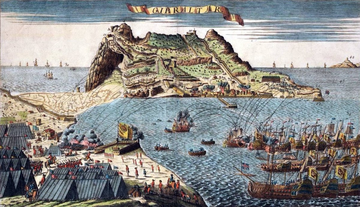 On this day in 1779, Spain enters the War of Independence on Americas side and lays siege to Gibraltar. The Spanish blockade lasts for three and a half years, but fails to recapture the British outpost.