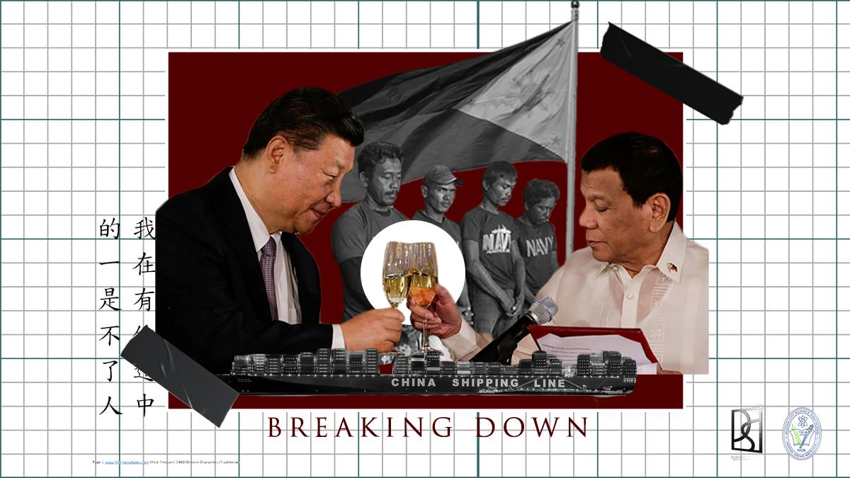 BREAKING DOWN: Vietnam? Philippines? Friends. | In the coming days, @QCSHSDebSoc will be sharing complex news events and break it down for the rest of the Scientian community. This week in BREAKING DOWN, we are looking at the Chinese Vessel Encounter. #philippines<br>http://pic.twitter.com/NwTaVvjzAK