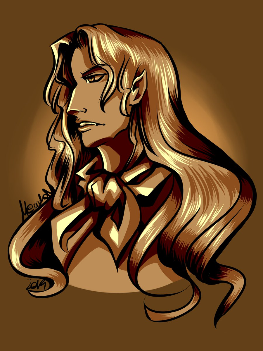 #artworks #castlevania Alucard is husbando <br>http://pic.twitter.com/7f6cs2r0DU