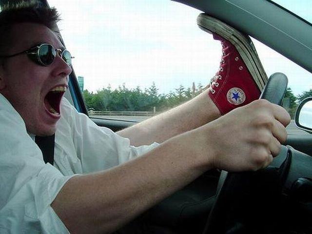 Смешные картинки водителей за рулем