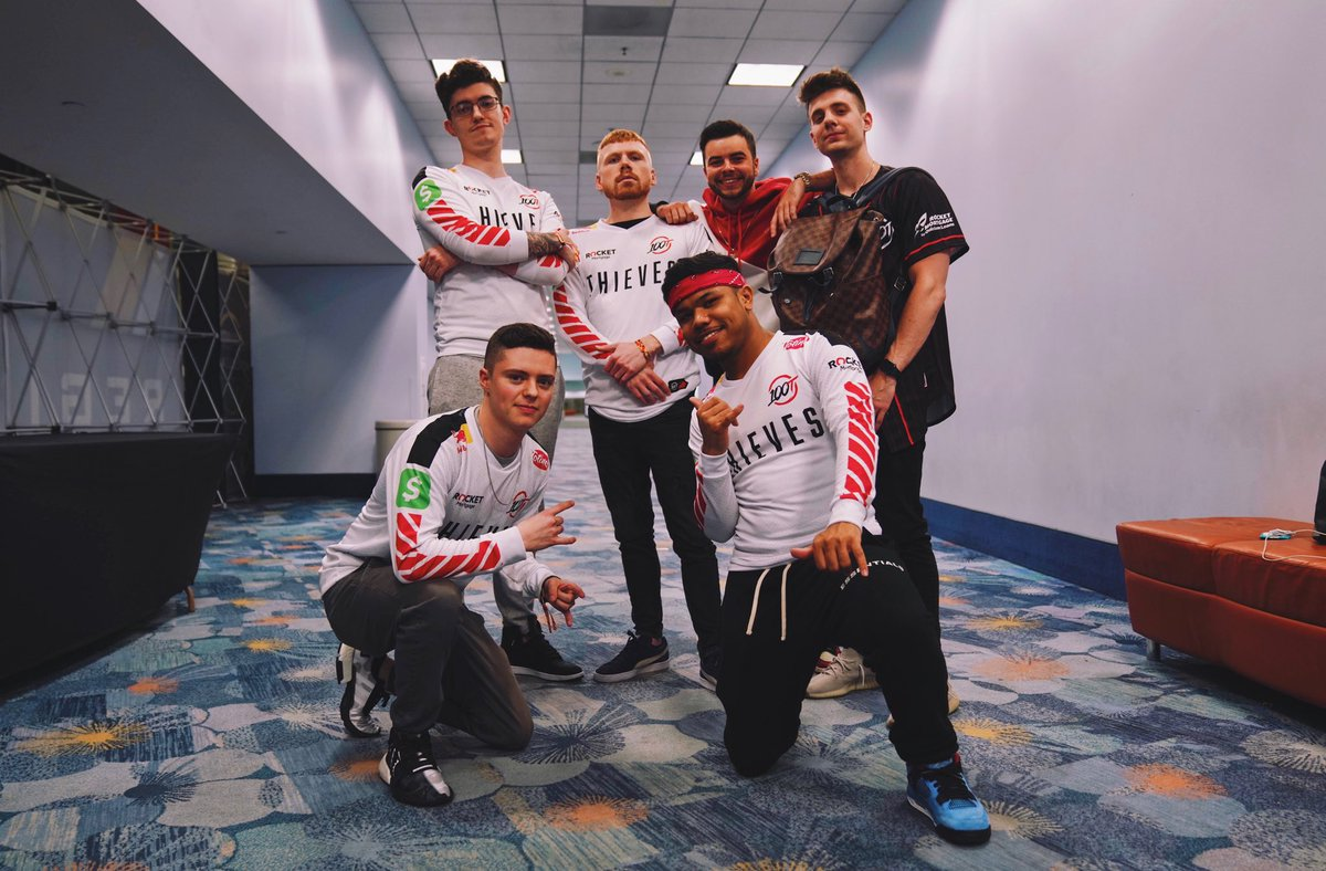 Top 3 secured. Winners Finals tomorrow.   See you Championship Sunday. #100T  #CWLAnaheim<br>http://pic.twitter.com/STec75YVRQ