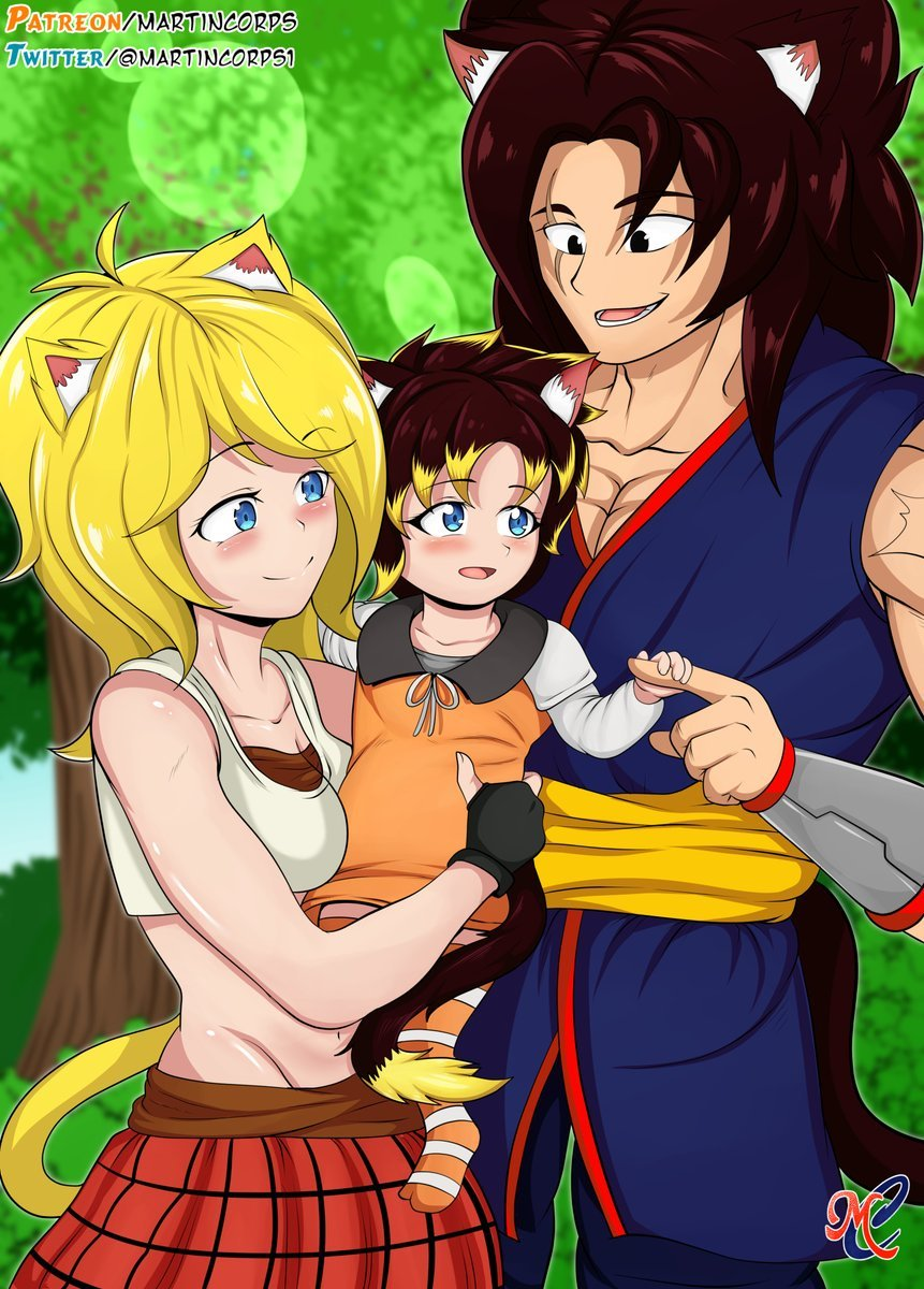 well.. happy father's day for my man Khris.. he lost his parents when he was 3.. with Kacie, Amashi..  and him and @GoddessSherry_' daughter Emily..  I love u Sherry.. I know how u feel..