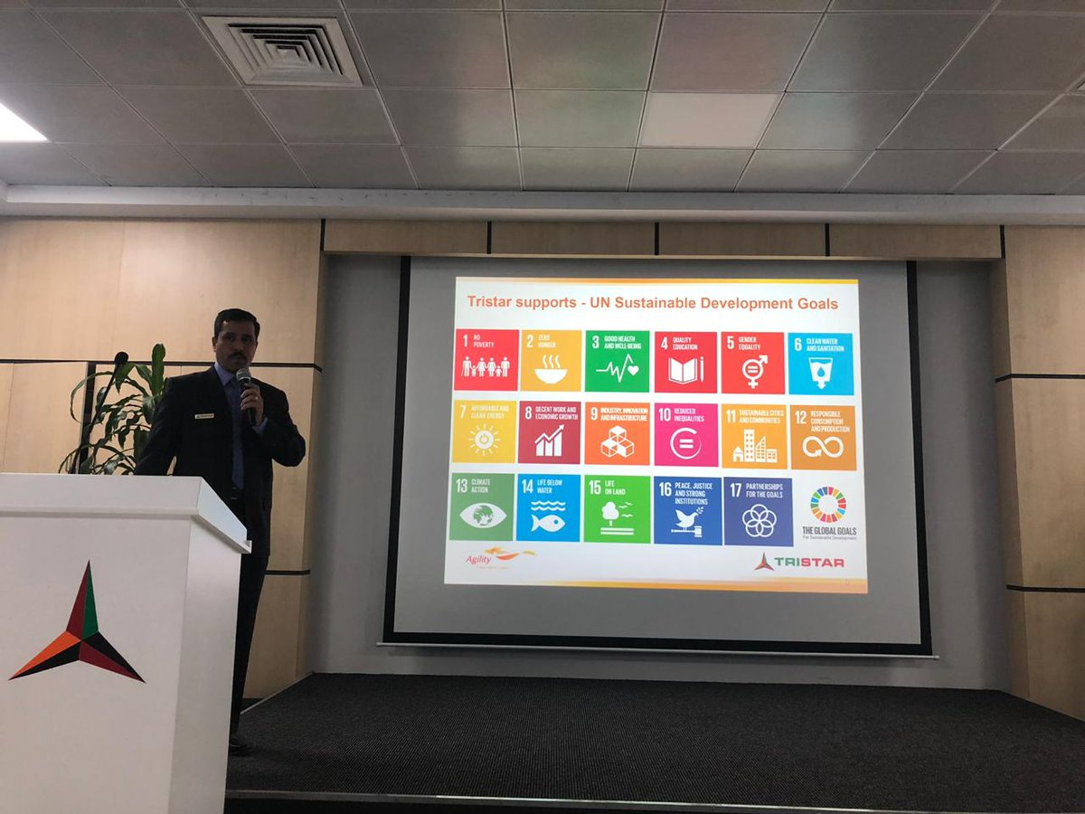 EEG is delighted to join its active corporate member Tristar to celebrate World Environment Day at their headquarters in Jebel Ali #EEG #tristar #worldenvironmentday #sdgs