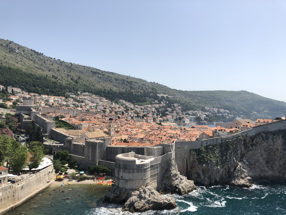 Dubrovnik is insane irl (and not burned down as seen in #GameOfThronesFinale) 🔥🐉⚔️🐺❄️
