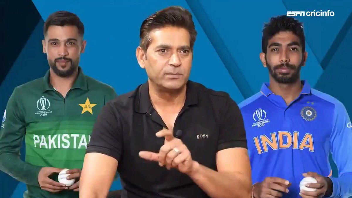 Aaqib Javed thinks there is no comparison between Amir and Bumrah in the present day #CWC19 #INDvPAK