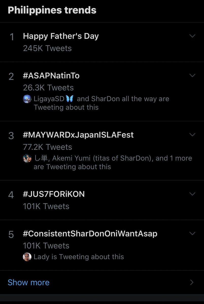 We did it!!!!I'm so proud of us sdf labyu all #ConsistentSharDonOniWantAsap<br>http://pic.twitter.com/JjhPUMGAqm
