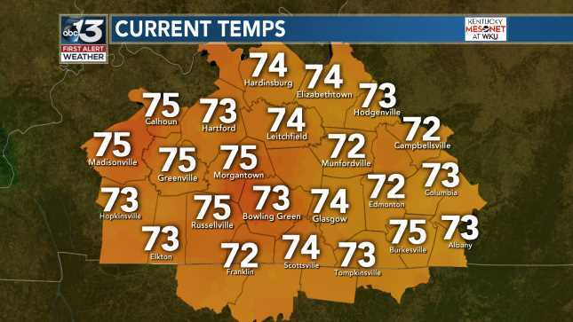 Automatic Ky Mesonet Temps June 16, 2019 at 03:00AM Always on the WBKO Weather App and http://WBKO.com  #wbkowx #wbko #kywx