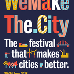 Image for the Tweet beginning: This week it is WeMakeTheCity