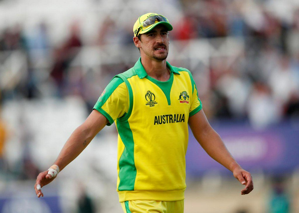 Starc keen to pitch up at every World Cup game https://reut.rs/2MO5nnC