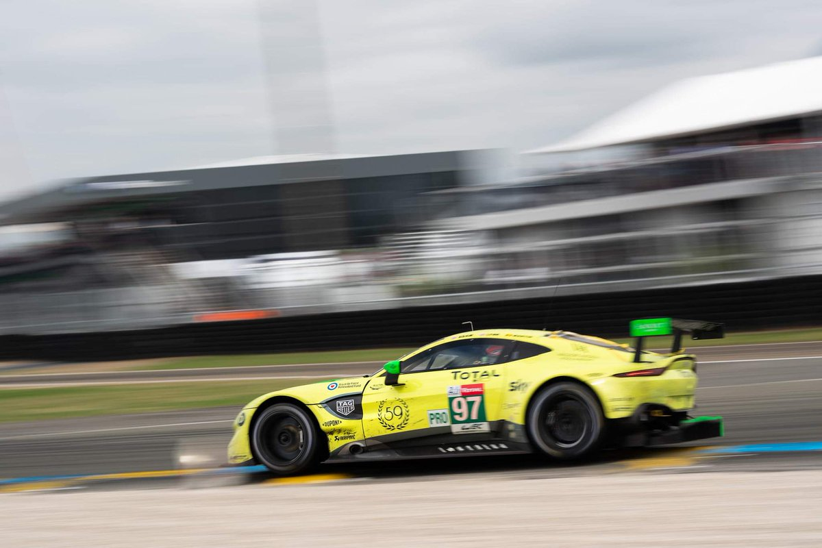 What a race. You legends. We are so flippin proud of you. Thank you for keeping up the AMR flag for the all of us. #LeMans24 #teamAMR