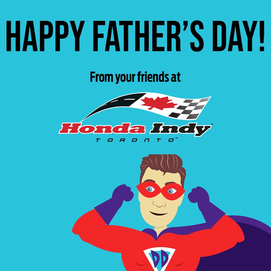 Happy Fathers Day to all the (super) dads out there! 👱‍♂️ From your #indyTO family ❤️