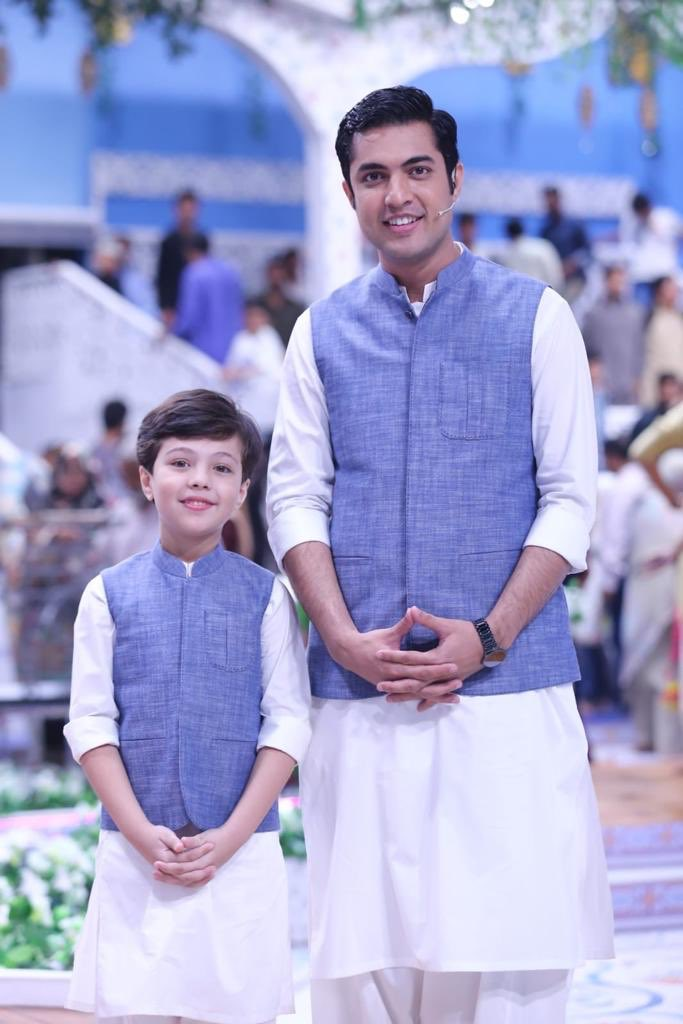 "Father is the noblest tiltle a man can be given""#happyfathersday2019 #livepakistan @iqrarulhassan"