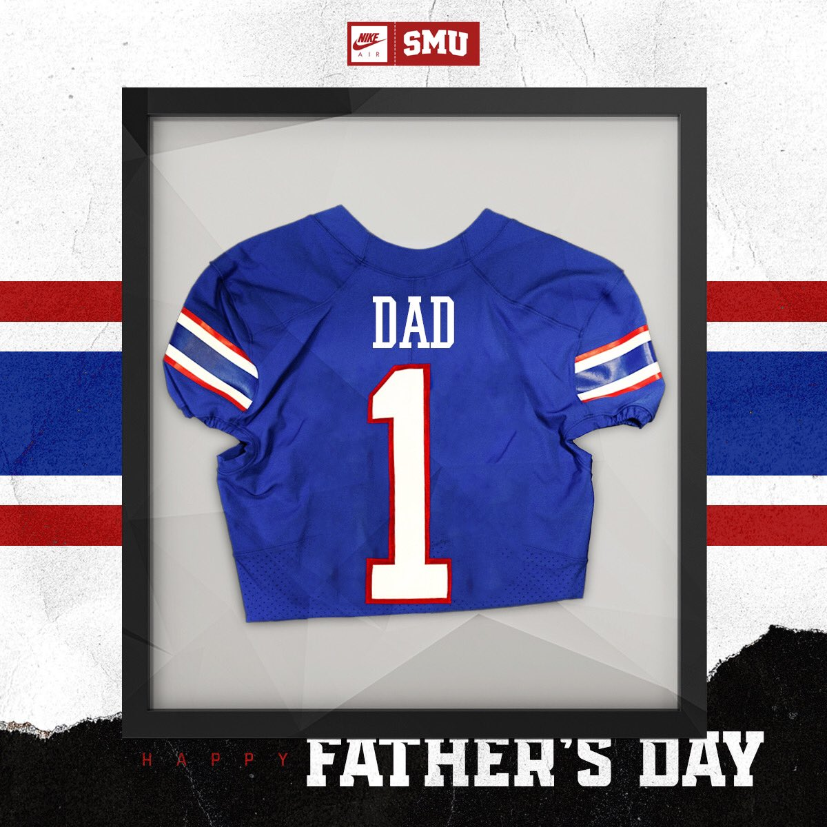 To the biggest fans on our sidelines, Happy #FathersDay ♥️🔵 #PonyUpDallas I