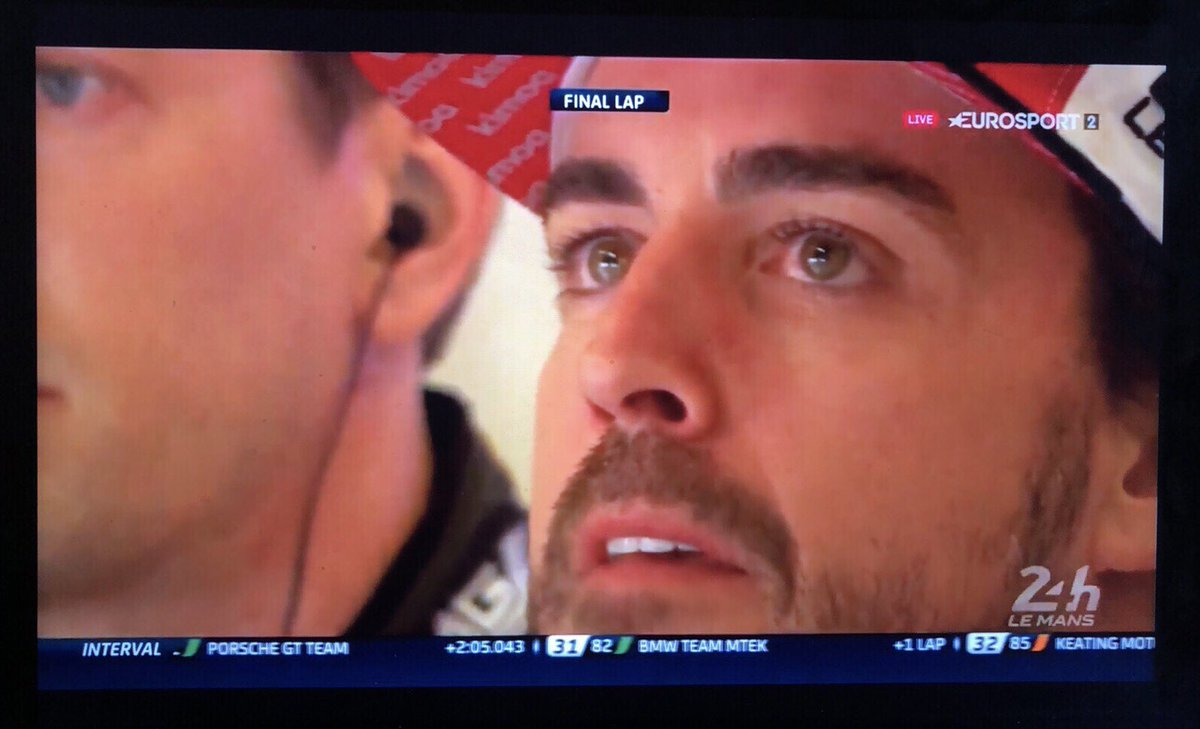 Congratulations to @alo_oficial for winning a championship & this time I didn't hold you back like in 2010 Abu Dhabi. Enjoy. Respect. Payback.  #asklemans https://t.co/f81f32Za6Z