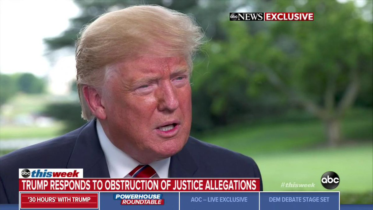 While bemoaning Mueller probe, Trump falsely says the Constitution gives him 'the right to do whatever I want'