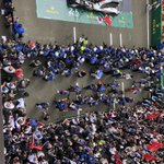 View from above at the end of the #LEMANS24