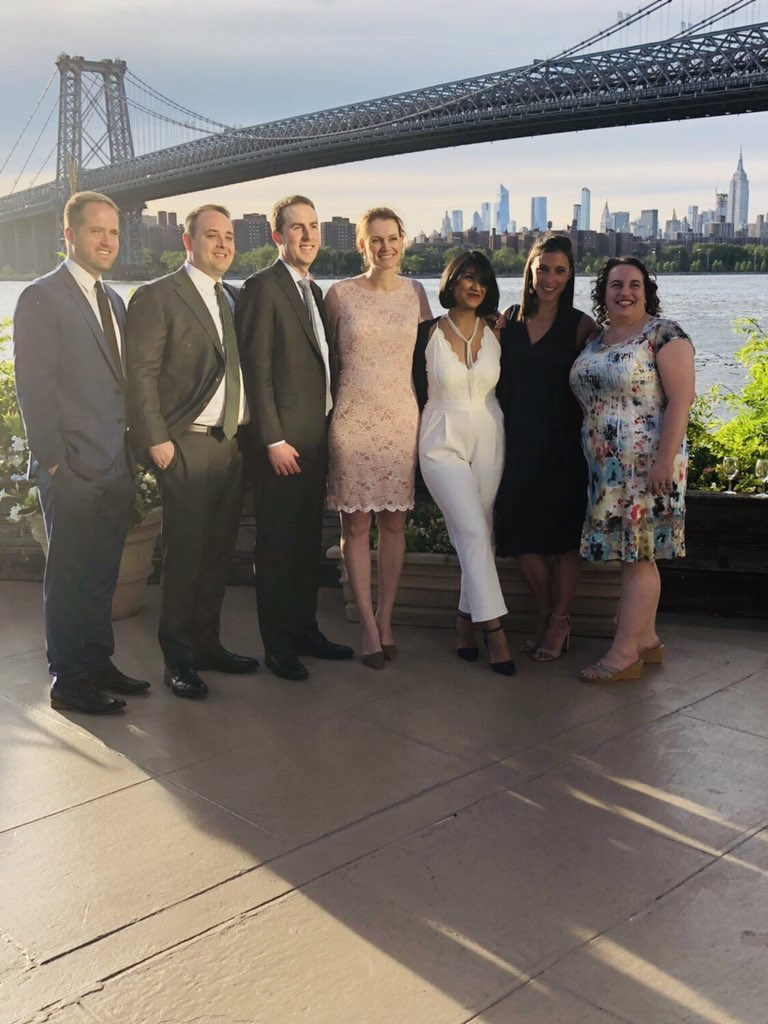 SUNY Downstate General Surgery 2019 graduating Chief Residents. Thanks to everyone who supported us. #surgery #sunydownstate #kingscounty #coneyisland
