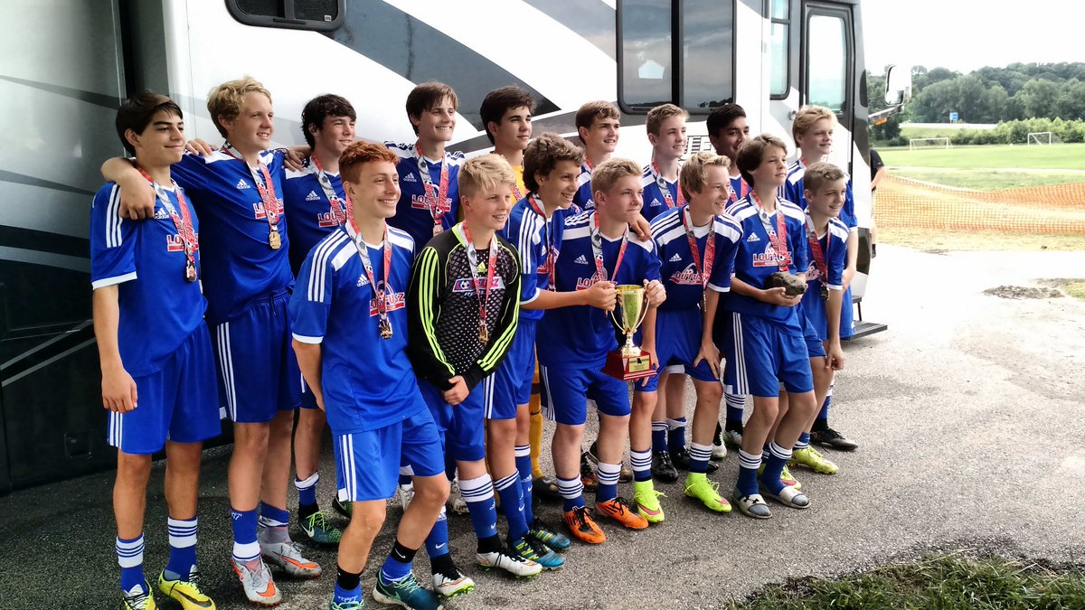 Look at these young lads. State Cup winner's in 2015