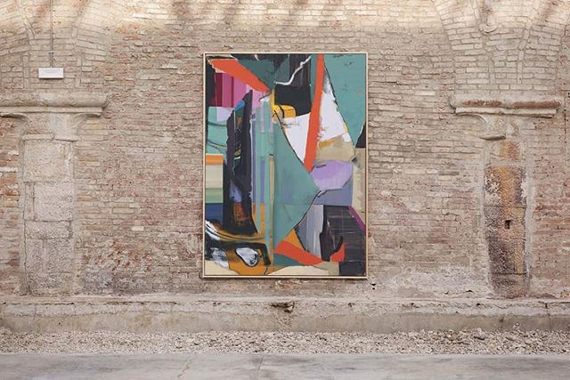 Don't miss this #painting by @izvorpende exhibited in the show #PointOfInterruptedDepartures at #Tesa100 in the #Arsenale in #Venice. The show is curated by #DanieleCapra, #MichaelStoeber and #NancyVonBreskaFicovic, and features works by #IzvorPende #Sla… https://t.co/0zlHoKJAt4
