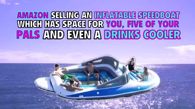 The Daily Record On Twitter This Inflatable Speedboat Is A Summer