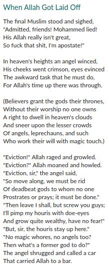Another serving of blasphemous poetry on my Goodreads blog.  https://t.co/ynPxOgLxjA https://t.co/THcBQgGKV1