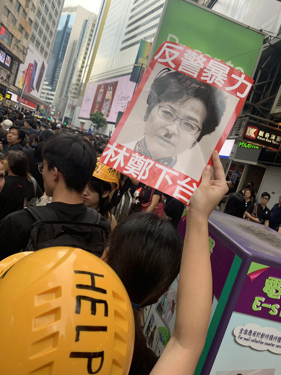 Hong Kong makes history as demonstrators march against government over halted extradition bill