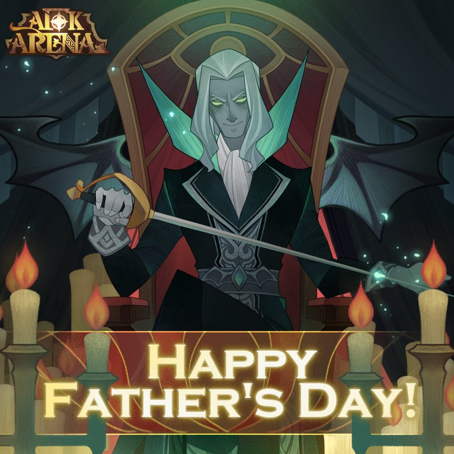 We hope you have a very happy Father'