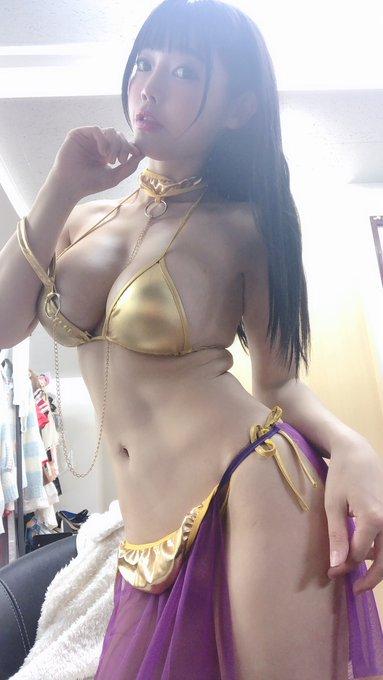 グラビアアイドル柴咲凛(みねりお)のTwitter自撮りエロ画像1
