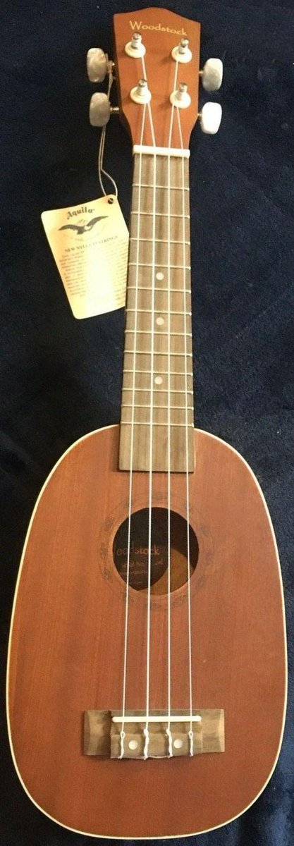 woodstock chinese pineapple soprano ukulele